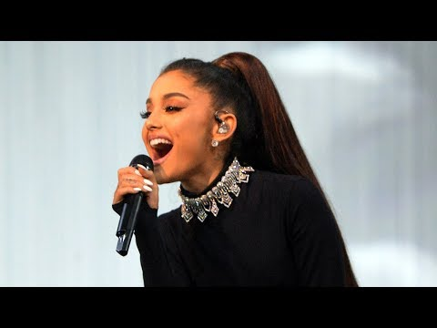 Ariana Grande SLIPS On Stage & Her Reaction Is Priceless