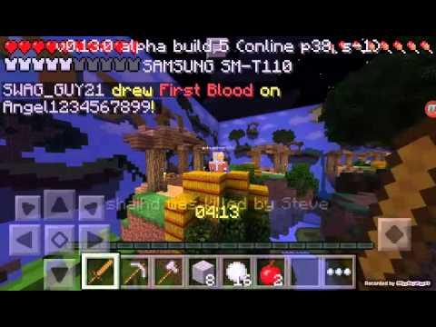 Minecraft pe servidor Hapixel - YouTube
