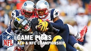 Championship Weekend Game Picks | NFL