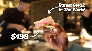 I Tried The Rarest Steak In The World