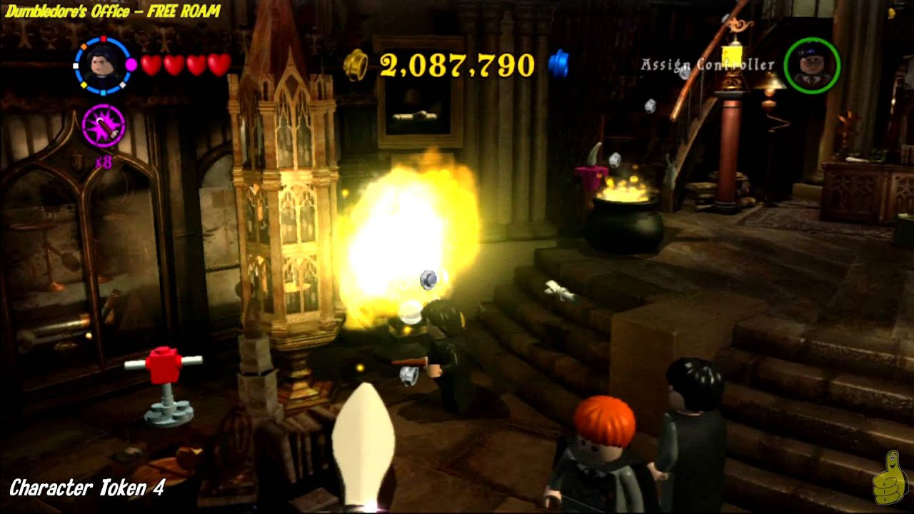 Lego Harry Potter Years 1 4 Moving Staircase Free Roam All
