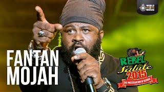 Fantan Mojah Live at Rebel Salute 2015