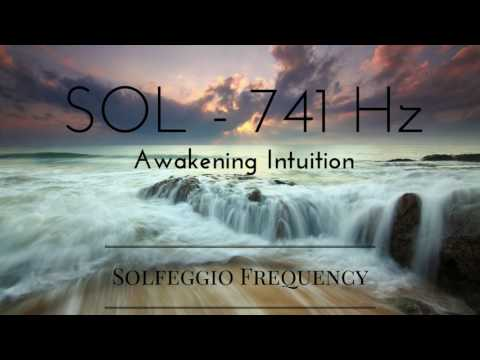 SOL - 741 Hz | pure tone | Solfeggio Frequency | Awakening Intuition | 8 hours