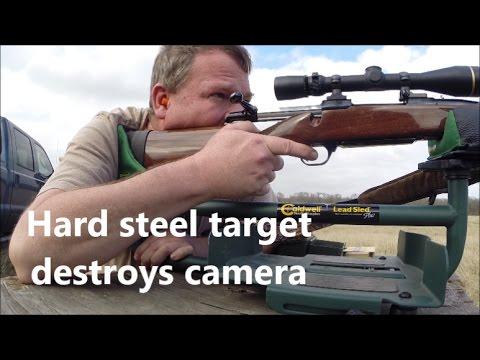 The danger of hard steel targets