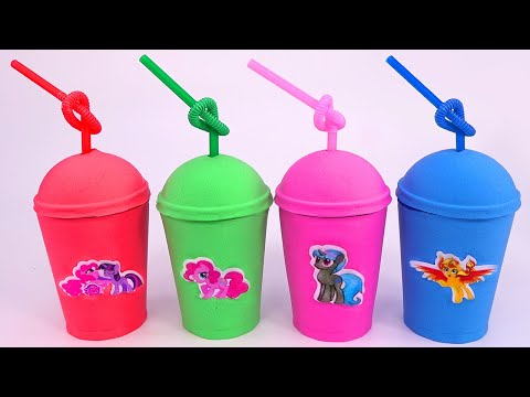 The ABC Song  Learn Colors Kinetic Sand Coffee Box Surprise Toys for Kids  My Little Pony