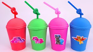 The ABC Song | Learn Colors Kinetic Sand Coffee Box Surprise Toys for Kids | My Little Pony