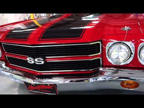 1970 Chevelle El Camino SS 396 American Muscle In Action