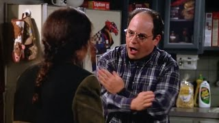 """Seinfeld - George, """"It's all pipes!"""""""