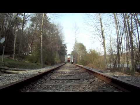 Motorcar Run on the Blue Ridge Scenic Railroad