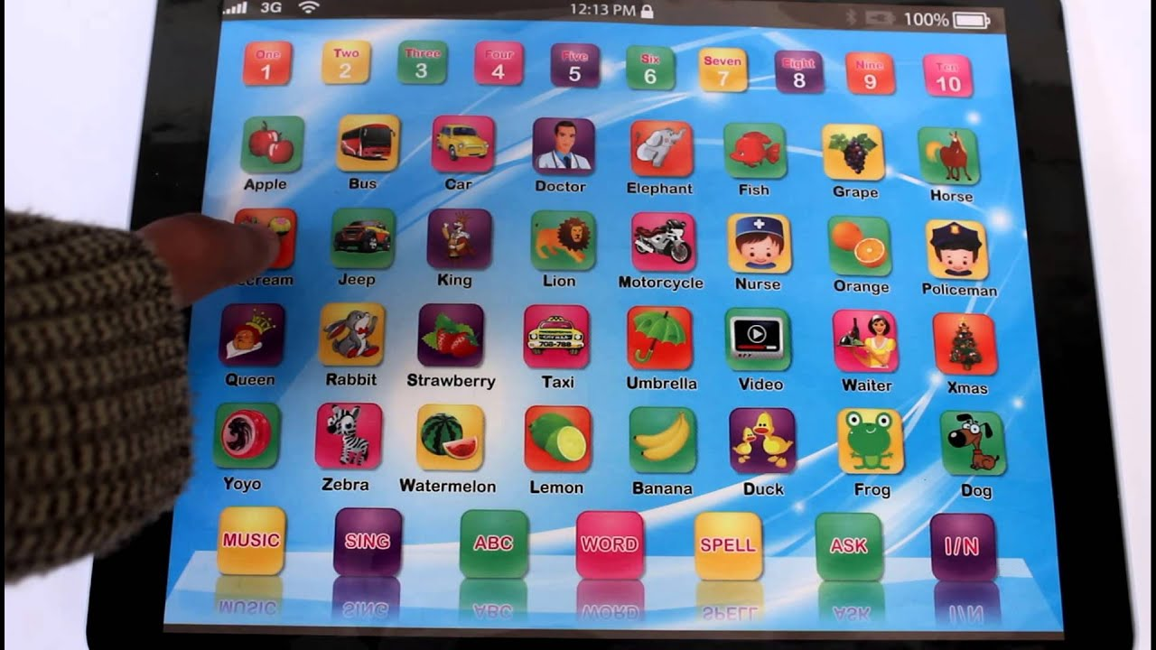 Educational Toy Tablet Ipads For Sale Ebay Co Uk Youtube