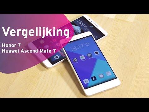 Honor 7 Vs Huawei Ascend Mate 7 Review (Dutch)