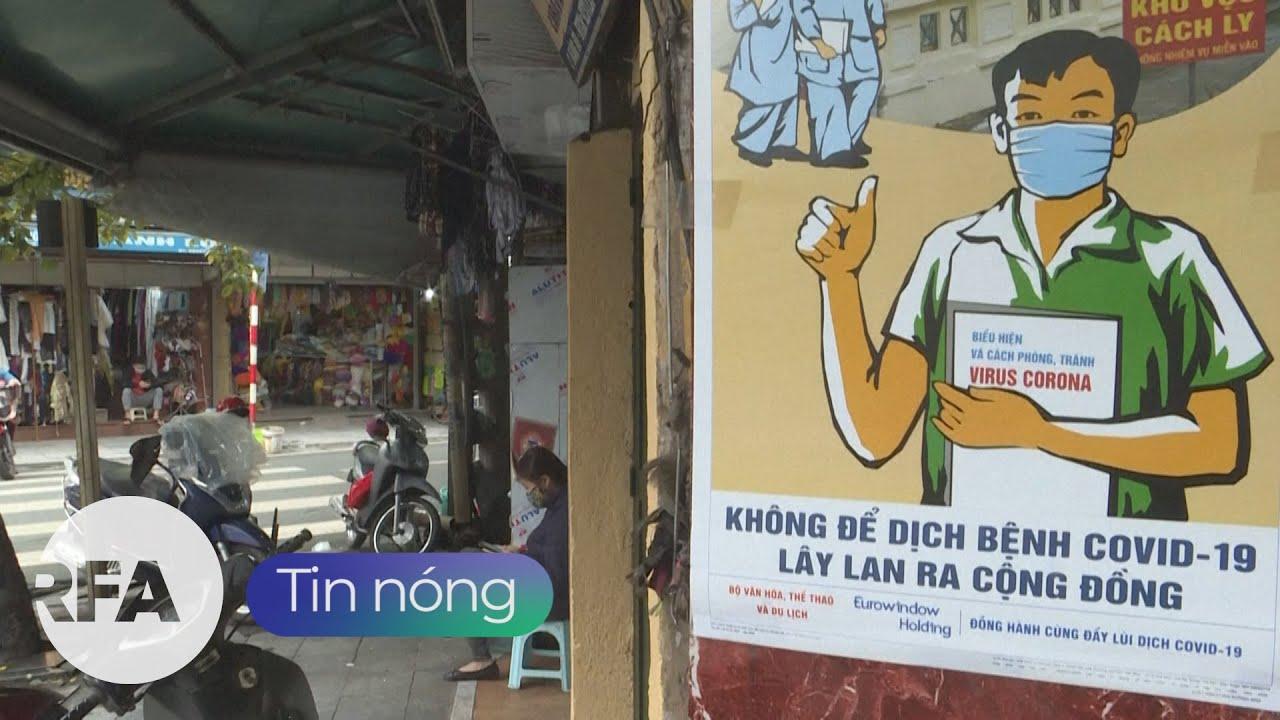 Tin nóng RFA   Việt Nam lo ngại dịch bệnh COVID-19 tiếp tục kéo dài