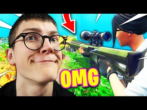 GAME de FOLIE au SNIPER sur FORTNITE Battle Royale !