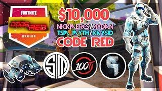 $10 000 🥊TSM_Myth Kaysid VS Aydan Nickmercs🥊 Code Red (Fortnite)