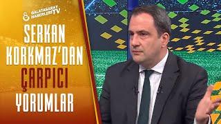 """Serkan Korkmaz: """"Galatasaray Taraftarının Alanyaspor Maçındaki Tepkisini Yorumladı"""""""