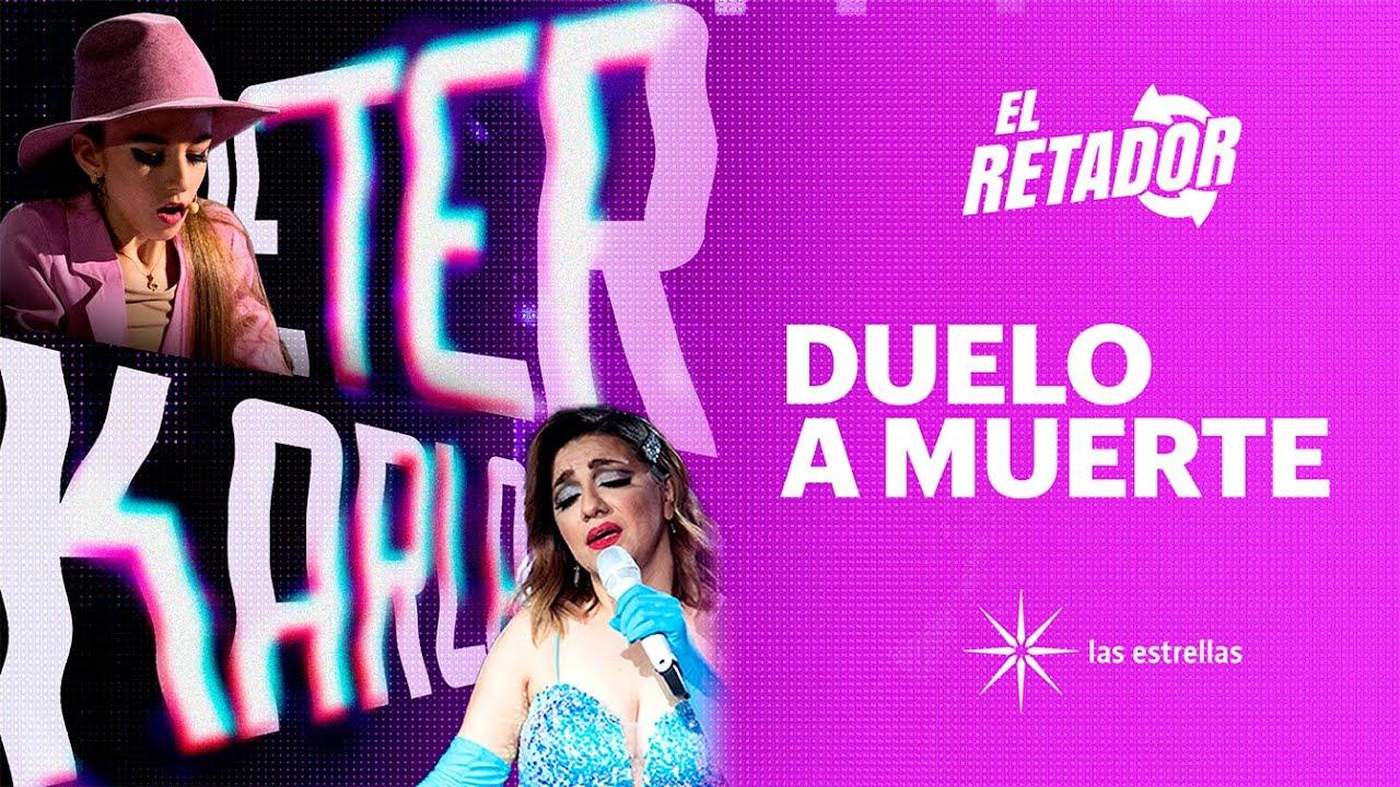 'Lady Gaga' no pudo contra las mil voces de Karla | #ElRetador