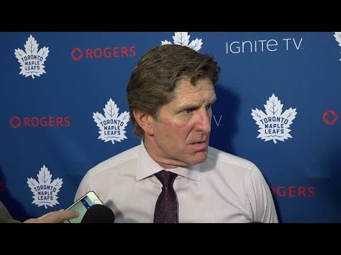 Maple Leafs Post-Game: Mike Babcock - October 24, 2018