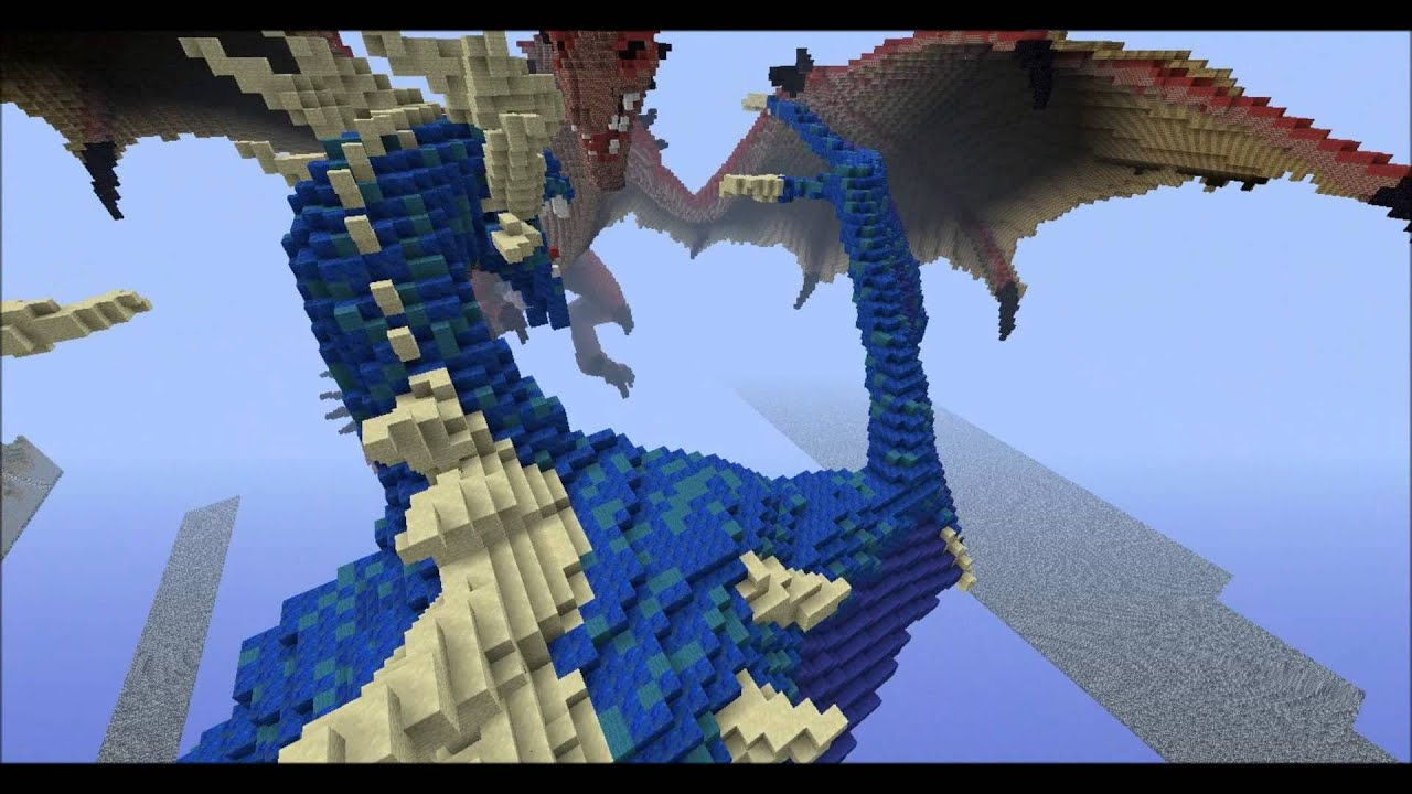 Minecraft PE Dragon DOWNLOAD YouTube