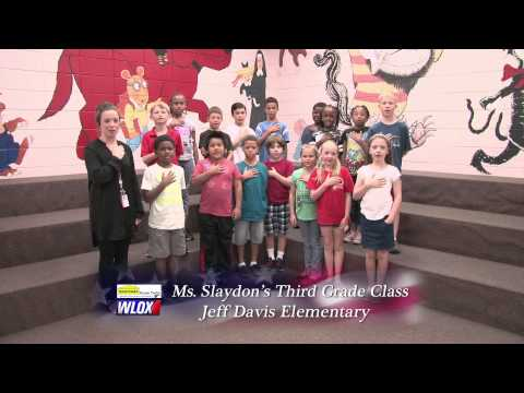Jeff Davis Elementary School - Ms. Slaydon's Class