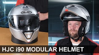 HJC i90 Modular Helmet - Lightweight - Cool - ECE / DOT Rated   Replaces the CL-MAX II