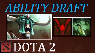 Dota 2 OP Speedy and Tanky Zombie Ability Draft