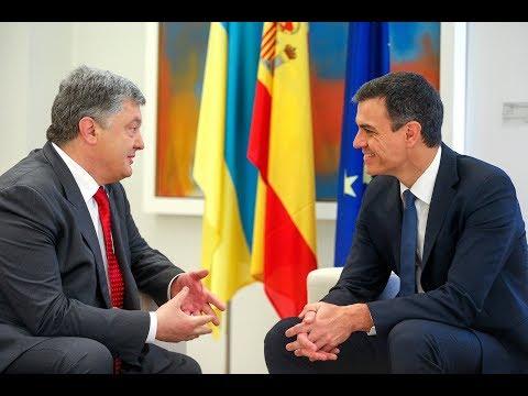 З Прем'єр-міністром Іспанії Педро Санчесом домовились активізувати співпрацю за різними напрямками