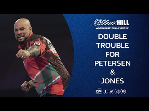 Double Drama for Petersen & Jones! 2018/19 William Hill World Darts Championship
