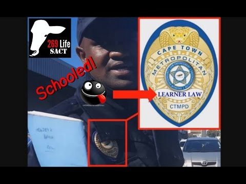 South African Law Enforcement SCHOOLED by 269lifeSACT