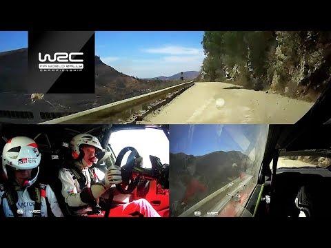 WRC - Rally Guanajuato México 2018: ONBOARD Tänak SS22