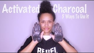 Activated Charcoal || 5 Health & Beauty Tricks