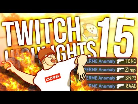 TWITCH HIGHLIGHTS 15 - INSANE DEAGS + ACE
