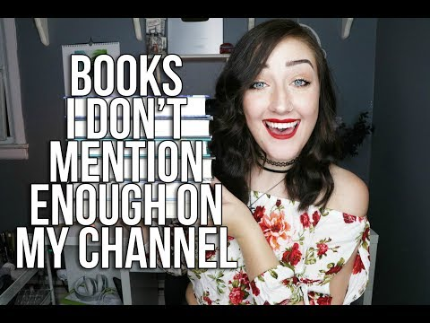 BOOKS I DON'T MENTION ENOUGH ON MY CHANNEL l Part Four.