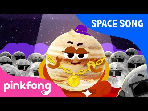 Jupiter | Planet Song | Pinkfong Songs for Children