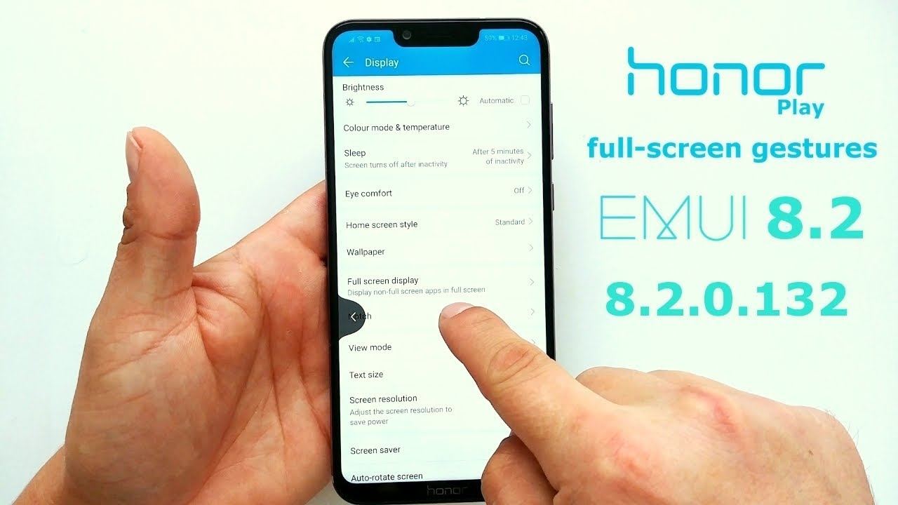 Honor Play gets full-screen gestures in the latest software update