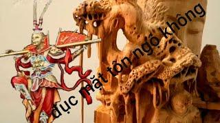 Sculpture Sun Wukong , điêu khắc Tôn ngộ không trong tác phẩm nhất tâm bái phật  2