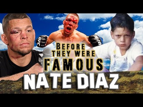 Thumbnail: NATE DIAZ - Before They Were Famous - UFC