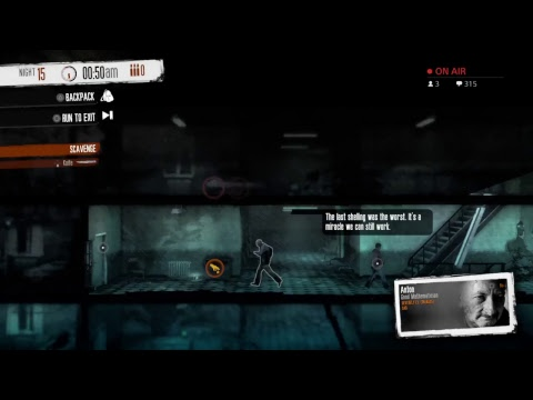 Katmeister's This War of Mine Chat Lounge05: Building Youtube Channel Creator Communit
