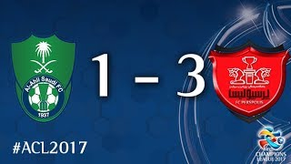 Al Ahli vs Persepolis (AFC Champions League 2017: Quarter Final - 2nd Leg) 2017 Video