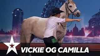 Vickie og Camilla | Danmark Har Talent 2017 | Audition 4