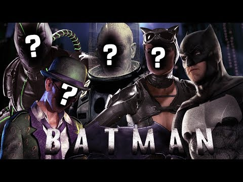 Who Should Play the Batman Villains in the DCEU?