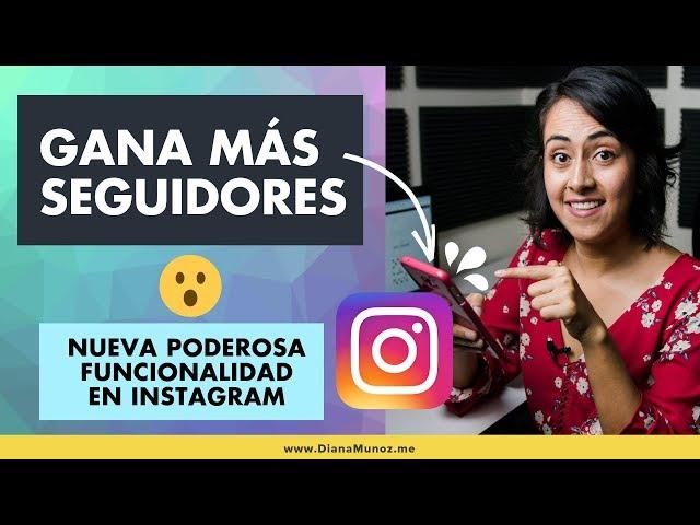 Gana Seguidores Nuevos con tu Tarjeta de identificación en Instagram (Nametag) | Diana Muñoz
