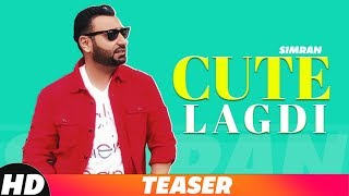 Teaser | Cute Lagdi | Simran | Coming Soon |  Speed Records