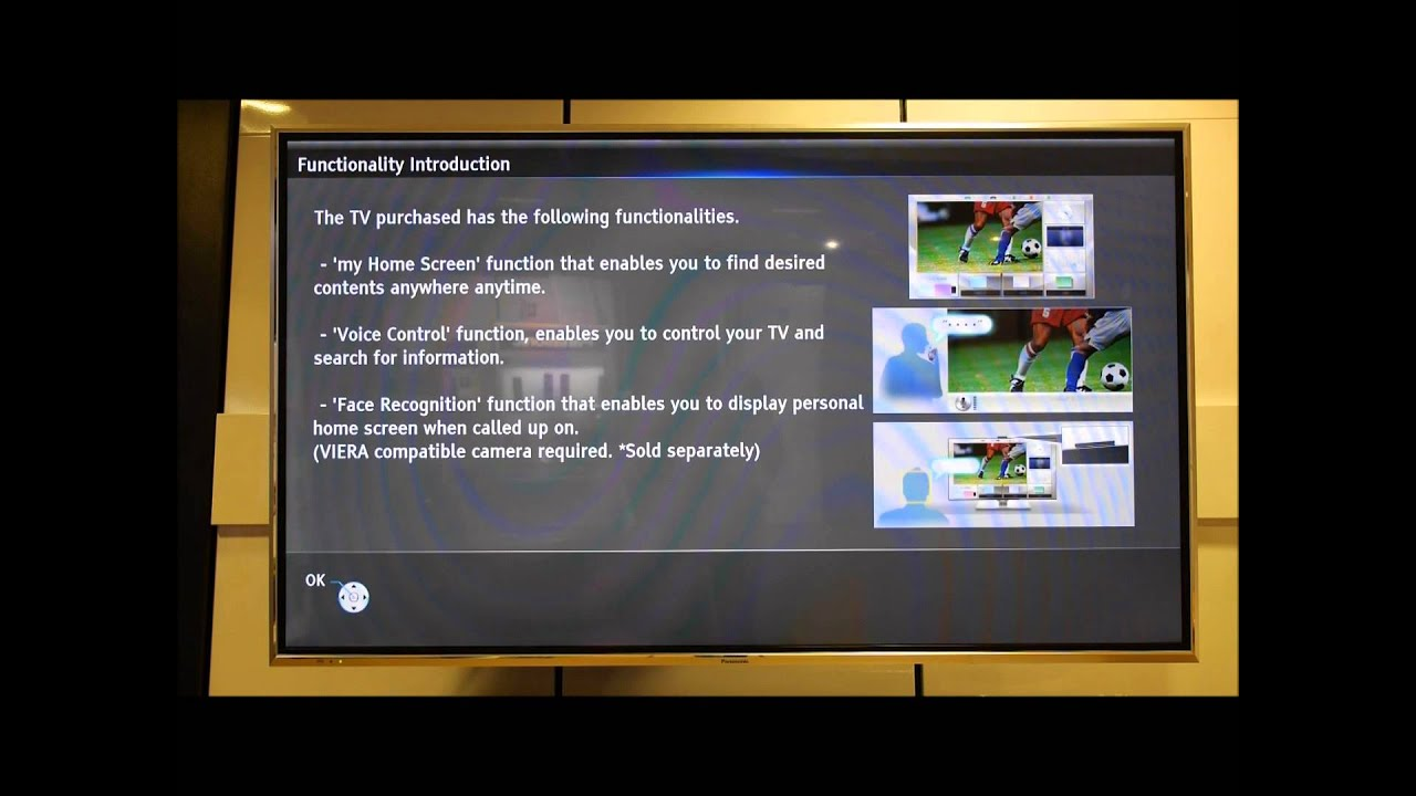 panasonic viera shipping condition reset youtube rh youtube com User Guide Icon Example User Guide