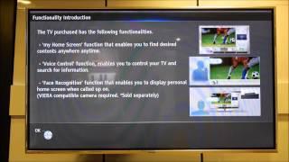 Panasonic Viera Shipping Condition Reset