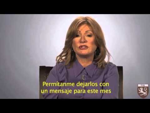 Institucional / Maestra Karen Berg saluda al Kabbalah Centre Argentina