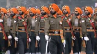 INDIA  68th Republic Day Parade - Indian Army Hell March 2017