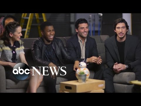 'Star Wars: The Force Awakens' Cast on Training for Roles