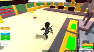 Playing with my brother Roblox
