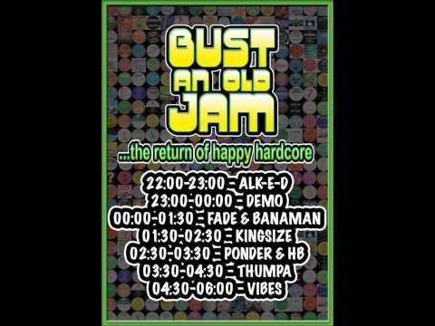 Live Set | Alk-E-D - Live @ Bust An Old Jam | 27.07.13.