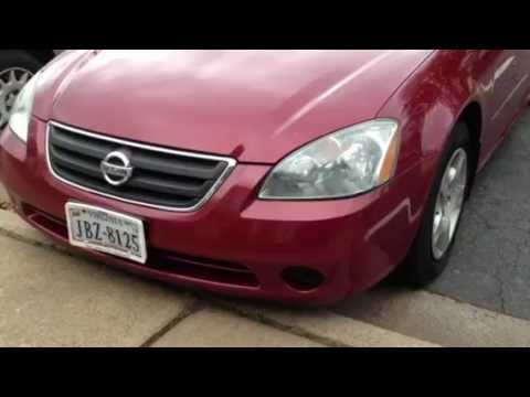 2003 Nissan Altima 2 5 S Start Up Exterior Interior In D Youtube